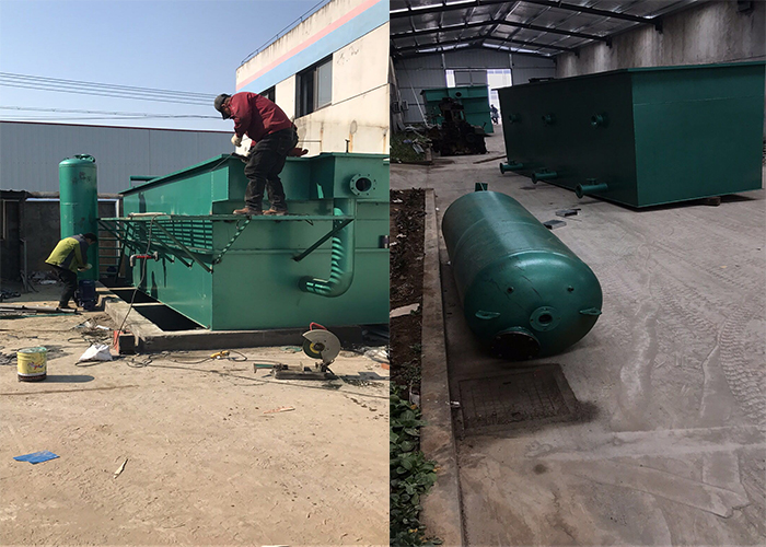 waster water recycle system for water jet loom plant - WASTE